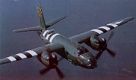 Cours d'histoire avions US exotiques  B-26%20Carolyn%202